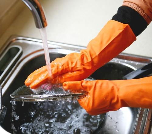 gants ménage latex