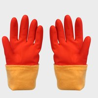 FE-NO.6018 Warm  Rubber Gloves